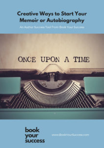Creative Ways to Start Your Memoir or Autobiography COVER