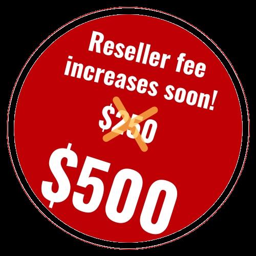Pricing Sticker $500